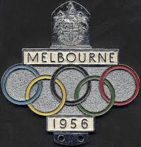 Melbourne hosts the Olympics
