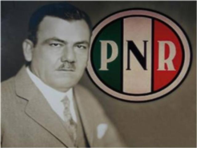 Fundación del PNR, 1929
