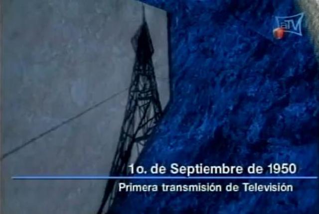Primer canal de televisión en México, 1950