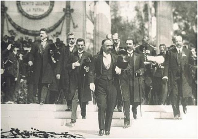 Madero es aprehendido durante su gira de campaña en Monterrey y trasladado a San Luis Potosí.