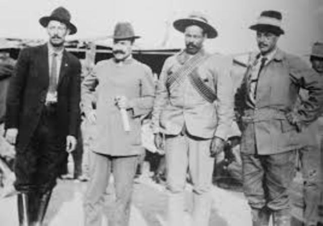 Pascual Orozco y Pancho Villa toman Ciudad Juárez, lo que traerá como consecuencia el triunfo de la lucha maderista.