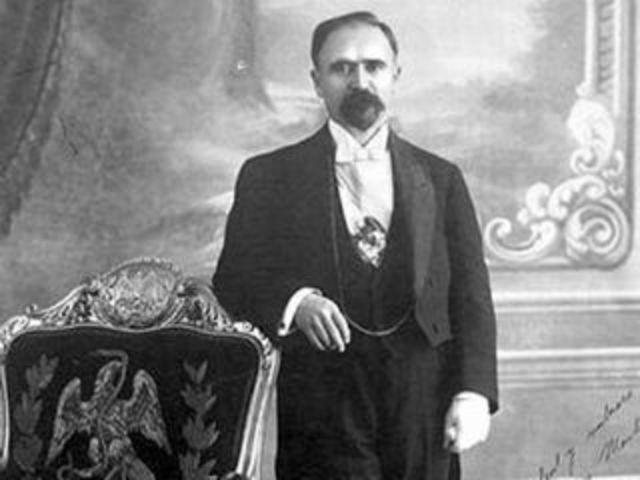 Madero protesta como presidente de la República.