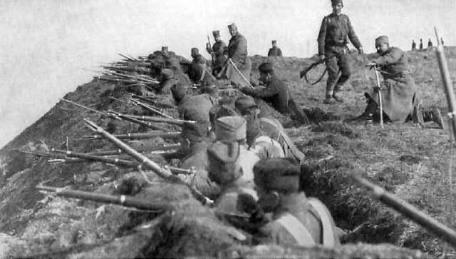 Turkey entered the war on Germany's side
