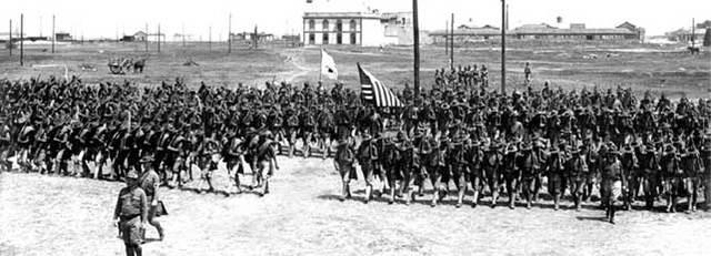 Marines estadounidenses toman el puerto de Veracruz