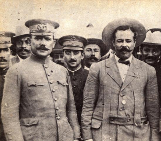 Durante tres meses, Álvaro Obregón se enfrenta y derrota a Pancho Villa en la región del Bajío, en las célebres batallas de Celaya y la Trinidad. La victoria sobre Villa le otorga el triunfo definitivo a Carranza.