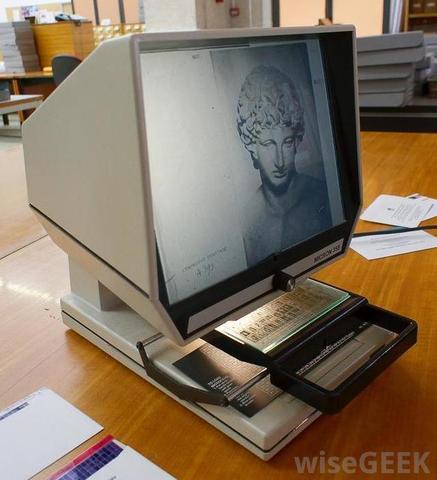 Microfiche Invented
