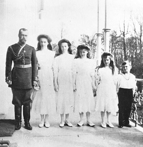 Tsar Nicholas II abdicates the Russian throne