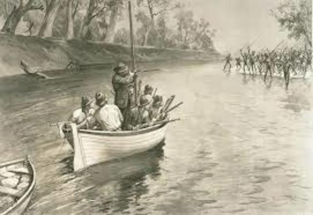Captain Cook and his crew met the Aboriginies