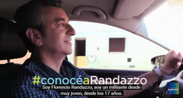 """Spot """"#ConocéaRandazzo Militante"""""""