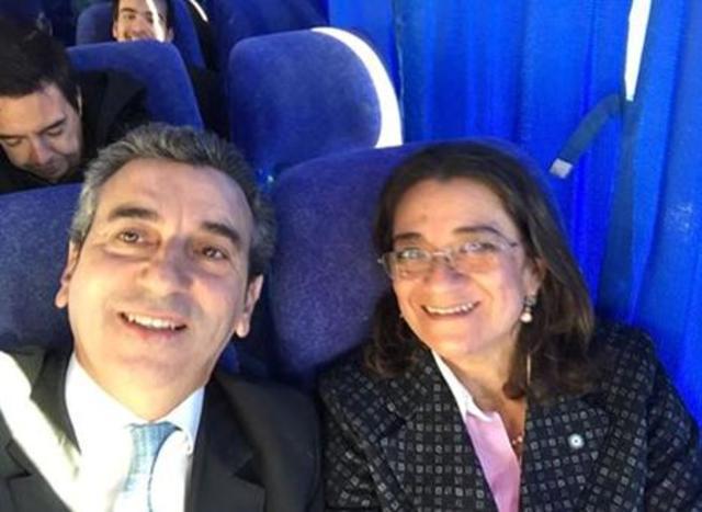 Foto con Lucía Carpacci (Gobernadora de Catamarca)