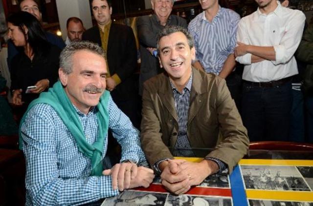 Fotos con Agustín Rossi en Rosario