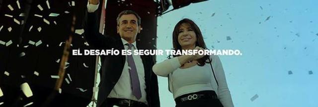 Cambio de foto de portada (junto a CFK)