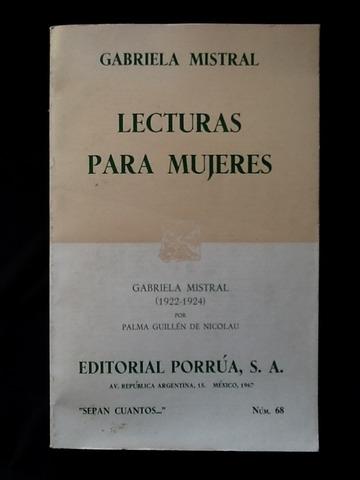 """Obra: """"Lectura para mujeres"""""""