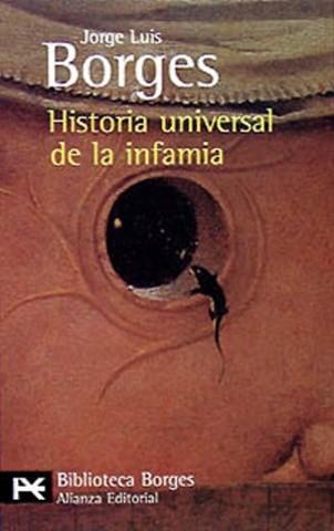 """Obra: """"La historia Universal de la Infamia"""