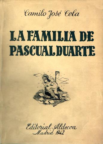 "Obra: ""La familia de Pacual Duarte"""