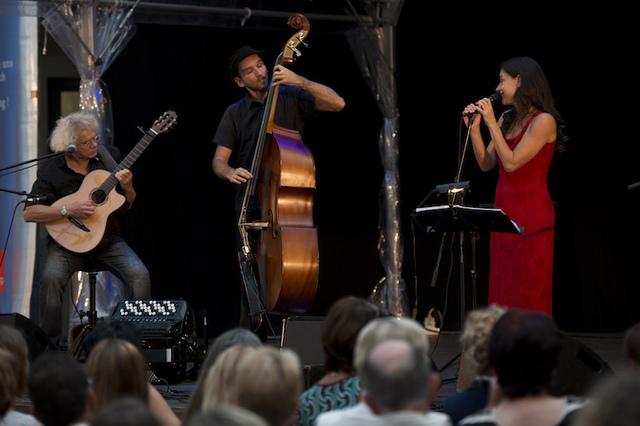 Chansons zum Bürgerfest 2015 in Regensburg