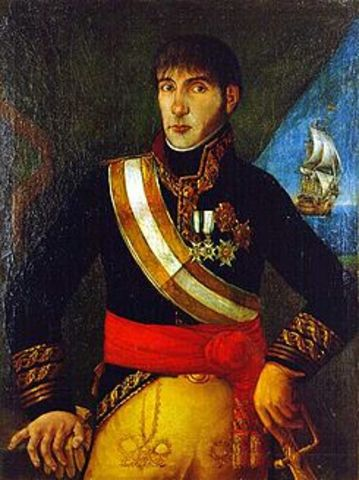 Cesa el virreinato interino de Liniers y, en medio de una grave crisis, asume el mando Baltasar Hidalgo de Cisneros