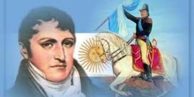 Belgrano crea la bandera