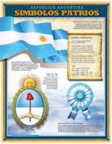 La asamblea le otorga al Estado los símbolos patrios: La Bandera, el Escudo y el Himno Nacional.