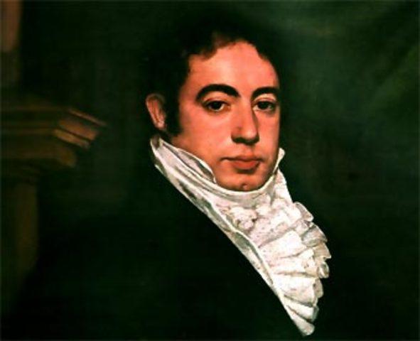 El congreso crea la presidencia de la Nación, y Bernardino Rivadavia es designado para cubrir el cargo