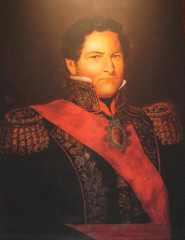 Juan Manuel de Rosas concluye el arreglo de la nueva frontera