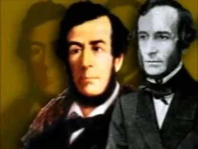 Echeverría y Juan Bautista Alberdi expresan su forma de pensar en el Credo de la joven generación argentina