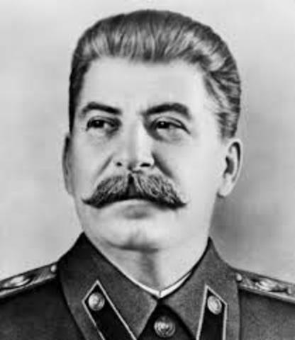 Stalin grijpt de macht