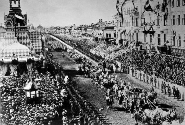 Kroning van tsaar Nicolaas II