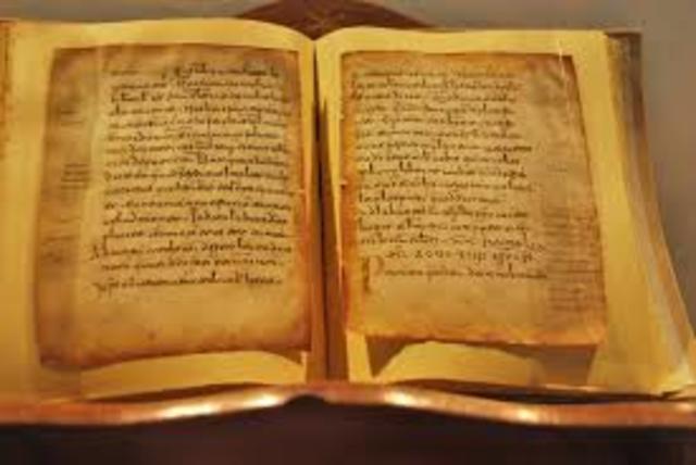 Primeros documentos