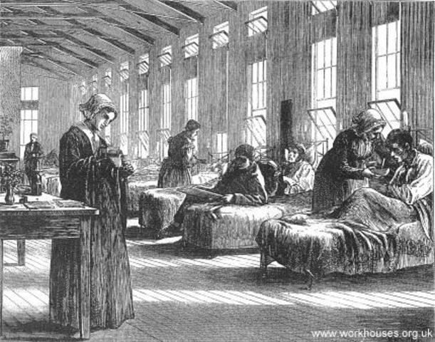 """In British asylums, """"educable"""" patients received special training. Other patients were confined to workhouses."""