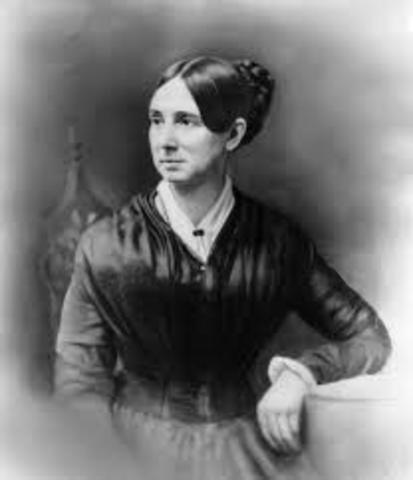 Dorothea Dix lobbies and advocates for those with cognitive disabilities