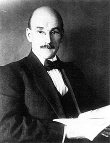 """Henry H Goddard and his Study in the Heredity of Feeble-Mindedness and Eugenics also introduces the word """"moron"""" into society"""