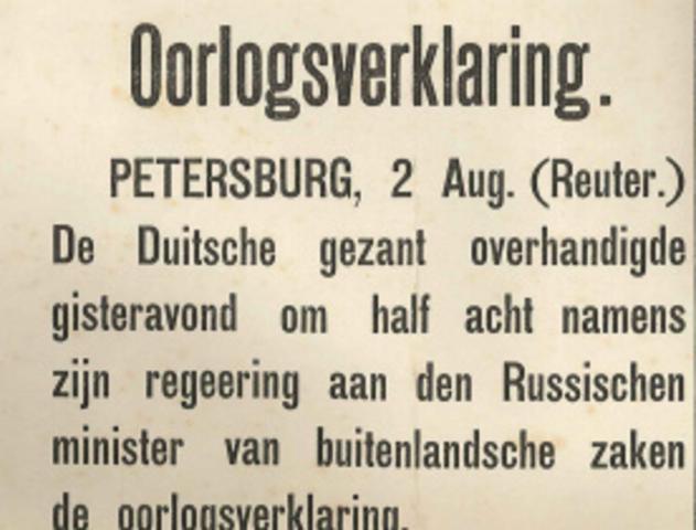 Redenen waarom de Eerste Wereldoorlog zo verkeert ging voor Rusland