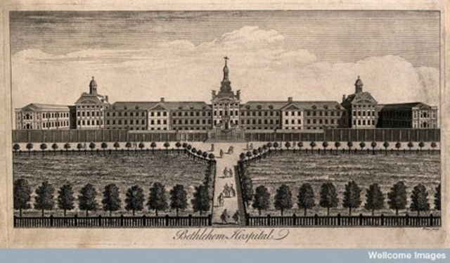First Institutuion in Bedlam, England