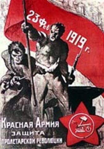 De Oktoberrevolutie              (oftewel: de Bolsjewieken grijpen de macht)