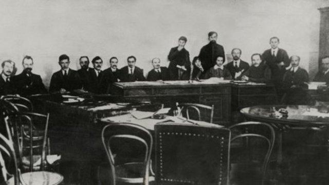 De Bolsjewieken grijpen de macht