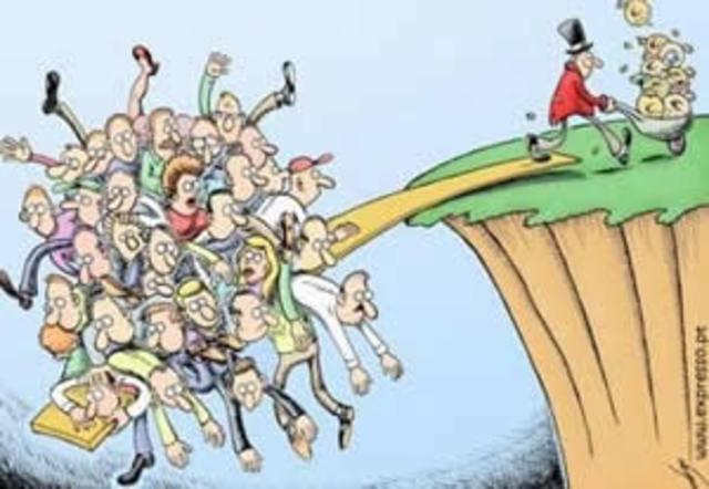 Grote kloof tussen rijk en arm
