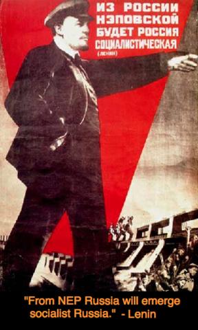 Lenin voert de Nieuwe Economische Politiek(NEP) in