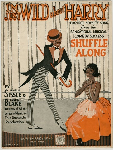 1921 Shuffle Along (Sissle/Blake) becomes first successful all black musical on broadway