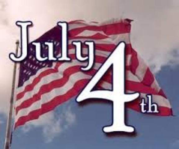 Independencia de las 13 Colonías inglesas en América