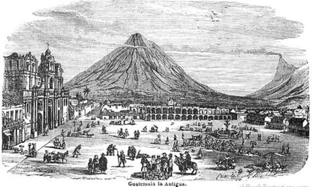 Traslado de la ciudad capital del Reino de Guatemala