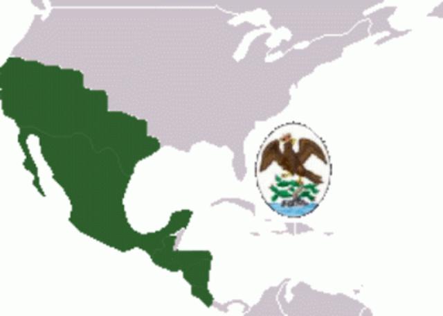 Año:1822 Anexion a mexico