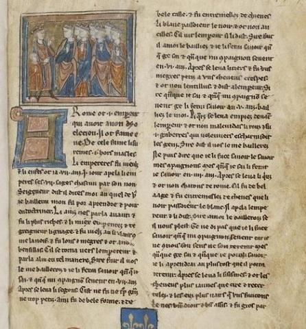 Siglo XIII El primer libro escrito en lengua catellana.