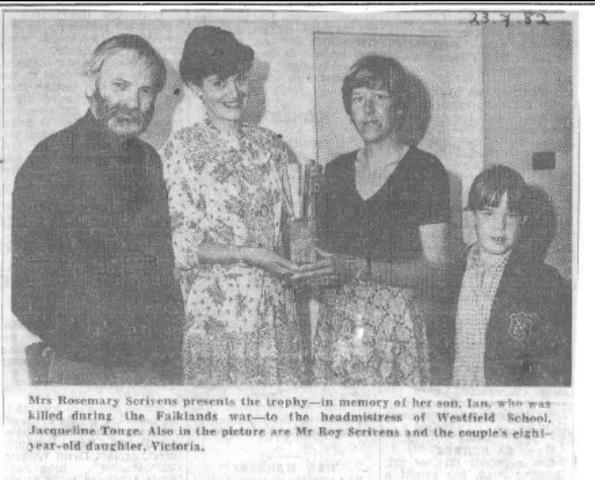 Scrivens Trophy