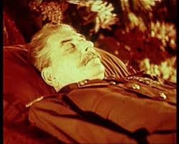 de dood van Stalin