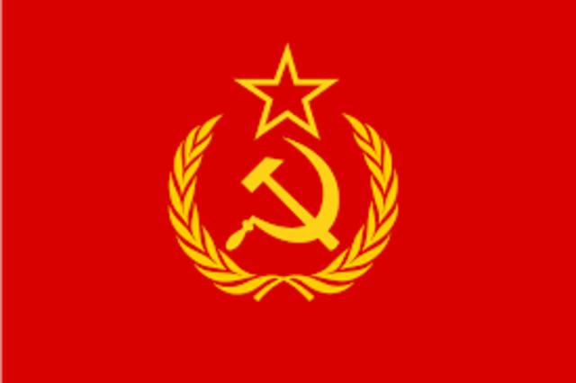 Rusland wordt de USSR