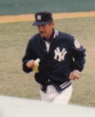 Billy Martin's managerial debut