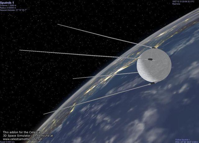 Satélite Sputnik 1