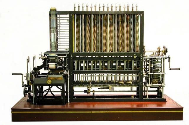 Máquina analitica de Babbage