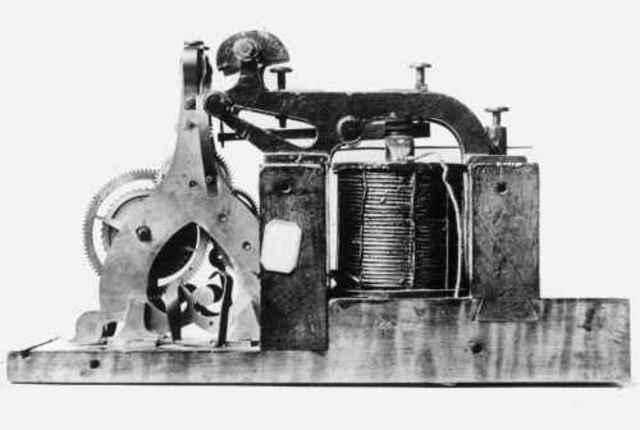 Surgen las TIC con la invencion del telegrafo